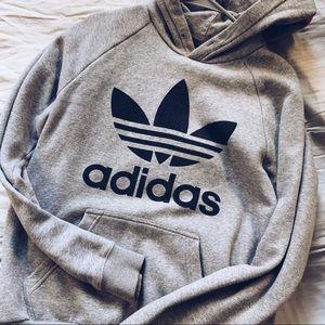 Adidas gray hoodie!